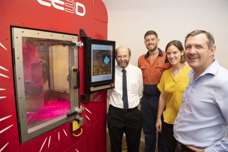 3D printer Chief Minister