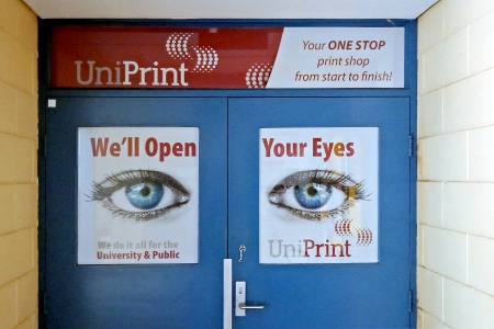 UniPrint front door