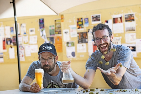 Darwin homebrew enthusiasts Jon Clark and Matthew Elvey will run a workshop on how to make the perfect Territory beer.