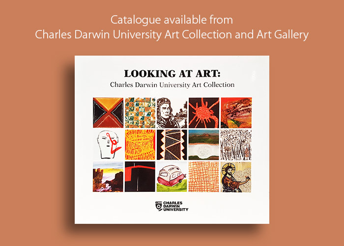 Looking at Art catalogue available from the Charles Darwin University Art Gallery