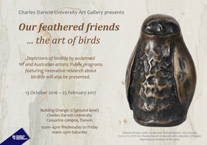 Our feathered friends... the art of birds exhibition
