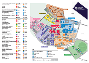 cas campus charles darwin university Map Cas a standard signage system map casinos