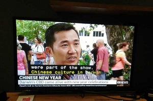 CI Chinese Director Hua Wang was interviewed by ABC news