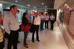 VC and DVC Visited the Hainan University Exhibition Hall