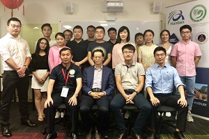 HE Mr CHENG Jingye met students from CDU Chinese Student Association