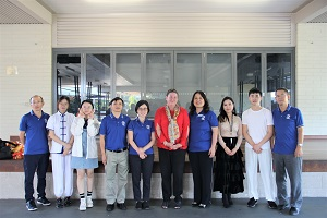 Group photo with the Principal Ms Melinda Kealy