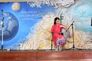 Chinese Traditional Musical Instrument Erhu Solo by Wendy Yang