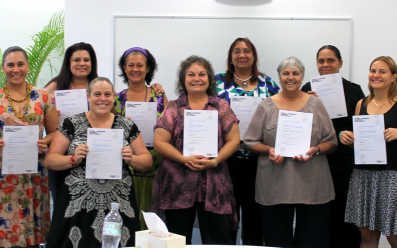 Indigenous teachers with certificates