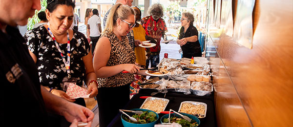 The NAIDOC Week BBQ held on 13 July started off the celebrations.
