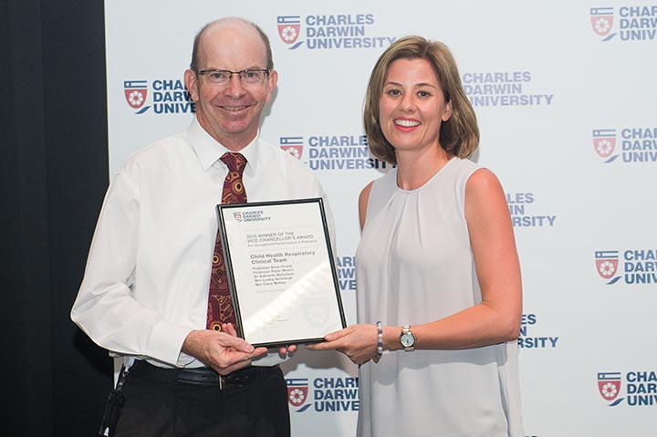 Child Health Respiratory Clinical Team member Dr Gabrielle McCallum, Exceptional Performance in Research Award
