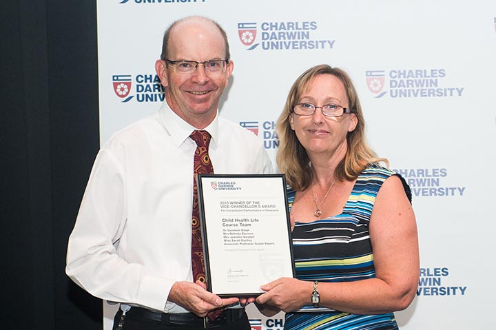 Child Health Life Course Team member Belinda Davison, Exceptional Performance in Research Award