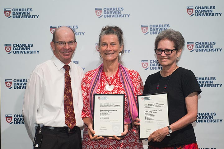 East Indonesian Field Intensive Team members Penny Wurm and Bronwyn Myers, Outstanding Contributions to Student Learning Award