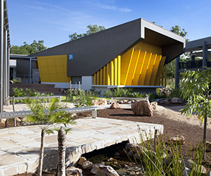One of the newest buildings on CDU's Casuarina campus has received a Green Star rating for its environmental sustainability
