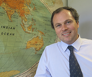 Law lecturer Danial Kelly has spoken at the ASEAN conference in Bali
