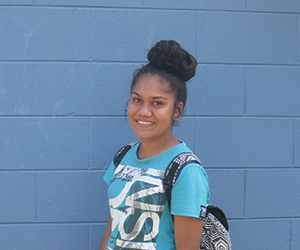 Year 12 student Delaney Ishiguchi is excited to share her camp experiences with friends back home