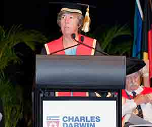 Chancellor Her Honour the Honourable Sally Thomas AC will preside over CDU's first graduation ceremony in Adelaide