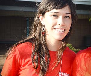 Fourth year Bachelor of Teaching and Applied Science student Alannah Filipovich