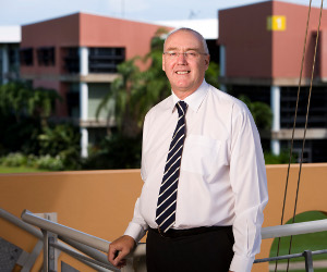 CDU Vice-Chancellor Professor Barney Glover attended the forum as the Northern Territory's Chief Scientist