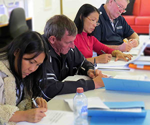Tennant Creek students begin the certificate course in disability