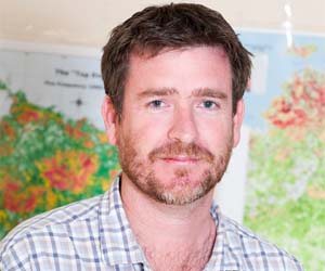 Darwin Centre for Bushfire Research project coordinator Cameron Yates is building a new tool to aid fire managers in the Northern Territory