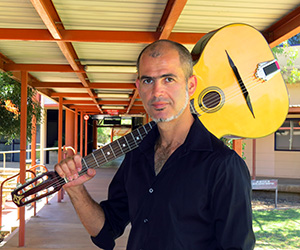 """Music lecturer Francis Diatschenko … """"I see music as an art form and a craft"""""""