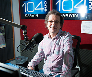 Territory FM Manager Jih Seymour says the new transmitter is enhancing the station's reception quality in the Darwin region