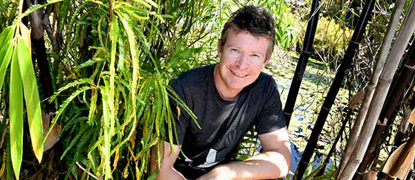 Dr Adam Britton: searching for answers to a deadly problem. Photo: Julianne Osborne