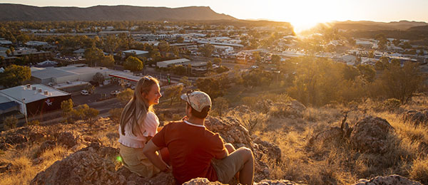 Northern Institute demographers will host a presentation and public discussion about Alice Springs' population at CDU campus on Monday. Image: Tourism Australia/Nicholas Kavo