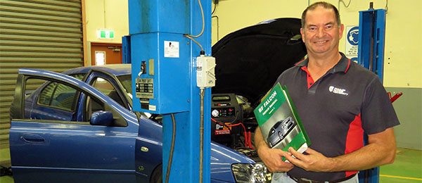 "Automotive lecturer Robert Tucker: ""A hands-on informative course with a focus on safety"""