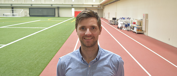 Dr Sam Gleadhill has been investigating the use of inertial sensors as a tool to monitor the way people lift weights and perform workplace tasks