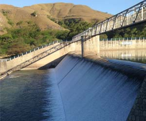 Kambaniru weir in Sumba, NTT, was inspected by the CDU team and recommendations for its repair were proposed