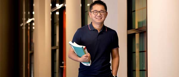 Dr Benjamin Tan will be researching how acupressure may help cancer patients