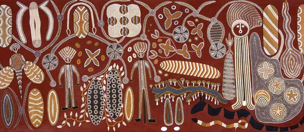 Yurrbari 1991. Image: Courtesy Museum and Art Gallery of the NT