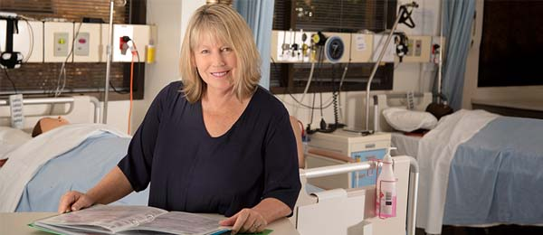 Dean of the College of Nursing and Midwifery, Professor Catherine Turner has bolstered the College's research horsepower. Photo: Julianne Osborne