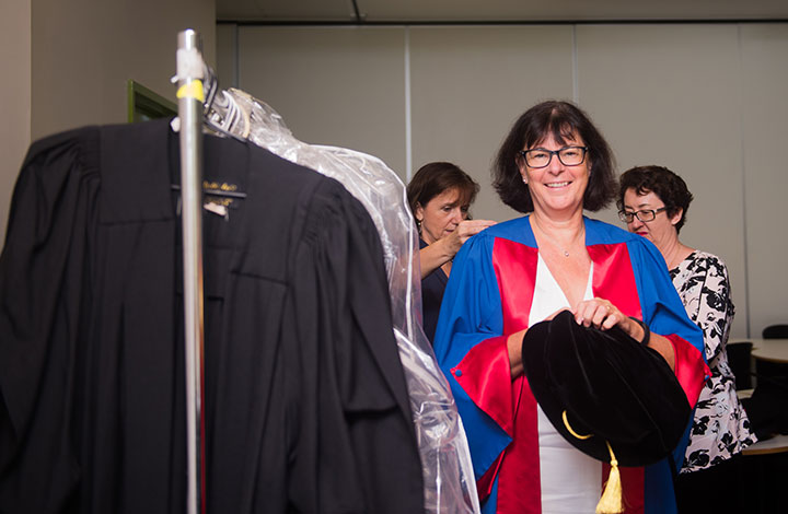 Pro Vice-Chancellor of the Faculty of Engineering, Health, Science and the Environment Professor Sue Carthew.