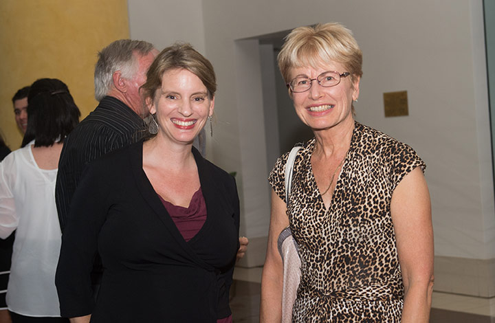 From left: CDU law lecturer Ros Vickers and Marietta Gunn.