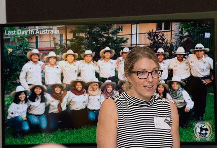 NT Cattlemen's Association project manager Carley Bidstrup discusses this year's NTCA Indonesia Australia Pastoral Program