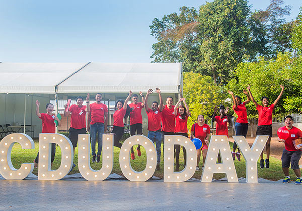 CDU Student Ambassadors helped to put on another successful Open Day