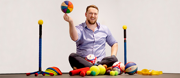 Alexander Engel has been investigating ways to develop fundamental motor skills and increase physical activity in pre-school aged children