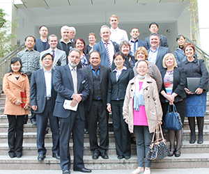 CDU School Leadership study participants at No. 50 Middle School of Hefei, Anhui Province, China