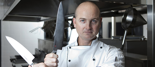 """Cookery lecturer Matthew Cook: """"hospitality industry-standard meals"""""""