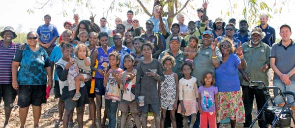 Traditional owners and researchers honour a long-term partnership to better understand the relationship between fish and flows in the Daly River