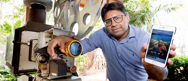 Darwin filmmaker and CDU Lecturer Dr Abhishek Shukla has secured a patent for a new means of distributing movies