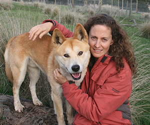 Dr Arian Wallach will compare land and sea predators in her study. Photographer: Lyn Watson