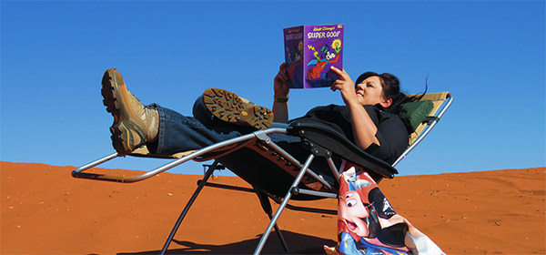 Kerry Shervey draws on her adventures with Disney to deliver training in the Red Centre