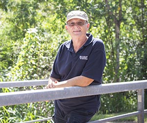 Katherine-based vocational education and training lecturer Christopher Dixon at Casuarina campus