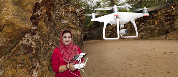 Dr Farha Sattar is finding new ways to engage young STEM students