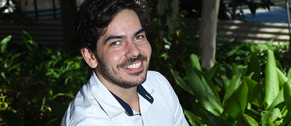 CDU student Jared O'Neill is set to graduate from his Bachelor of Laws degree. He was awarded a four-year Bachelor of Laws Scholarship from The Department of the Attorney-General and Justice.