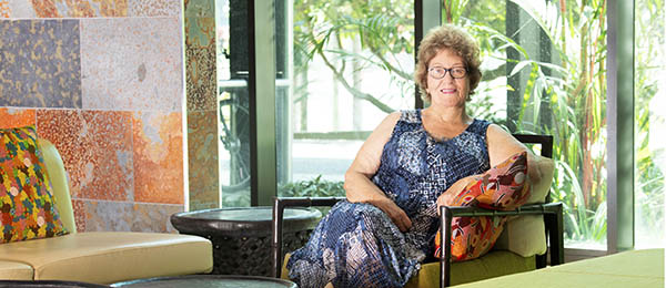 CDU researcher Dr Lorraine Teece is focused on fair treatment of Aboriginal people within court proceedings