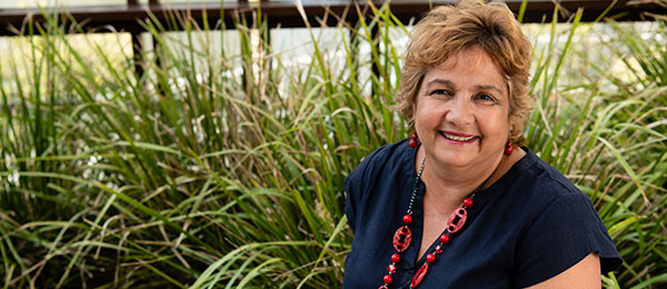 Menzies School of Health Research (Menzies) at Charles Darwin University will be part of a National Network for First Nations Researchers which is being established with the goal of growing the next generation of research leaders. Pictured: Professor Gail Garvey (Menzies)